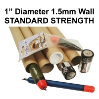 "1"" (25.4mm) Narrow Diameter Postal Tubes"