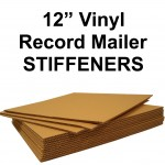 "12"" Record Mailer Stiffeners / Layer Pads"