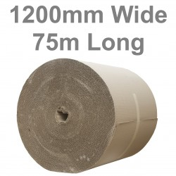 1200mm Wide Single Face Corrugated Paper Rolls