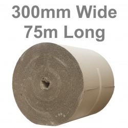 300mm Wide Single Face Corrugated Paper Rolls