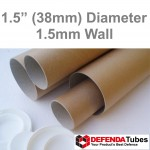 "13"" Long (A3 Size) Postal Tubes - 330mm x 38mm"
