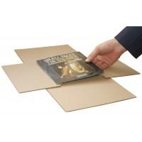 "7"" MusicMax TWISTS Adjustable Record Mailers - Strongest BULK Vinyl Mailers"