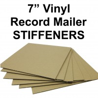 "7"" Record Mailer Stiffeners / Strengtheners"