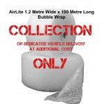 1200mm Wide Air Lite (AirLite) Bubble Wrap - Small Bubble