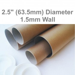 "18"" Long (A2 + Size) Postal Tubes - 458mm x 63.5mm"