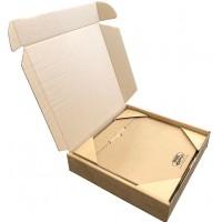"""12"""" Vinyl LP Outer Postal Boxes - 356mm x 356mm x 75mm"""
