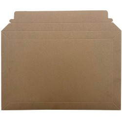 Size 2 - Brown All Board Envelopes / Capacity Book Mailers - 194mm x 294mm