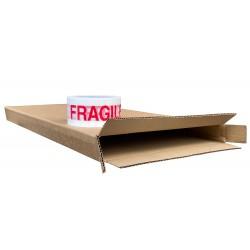 """280mm x 40mm x 540mm (11"""" x 1.57"""" x 21"""") Cardboard Postal Boxes - FOL11121"""