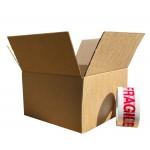 "203mm x 203mm x 203mm (8"" x 8"" x 8"") - Medium Cube Postal Boxes - SW88"