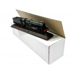 "450mm x 101mm x 101mm (18"" x 4"" x 4"") White Model Train Postal Boxes - FOLSW1844W"