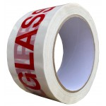 GLASS HANDLE WITH CARE Printed Packing Tape