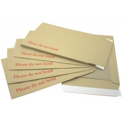 "125 x Photograph Size Board Backed Envelopes (267mm x 216mm appx 10.5"" x 8.5"") (1 Box)"