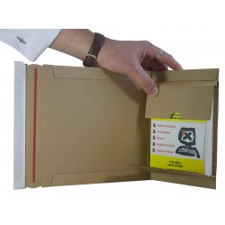 Size 1 Book Mailer - 147mm x 125mm x 55mm