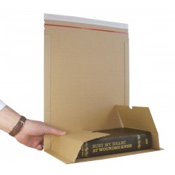 Size 3 - C5 Book Mailer - 251mm x 165mm x 80mm