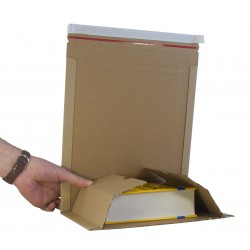 Size 4 - B5 Book Mailer - 270mm x 190mm x 80mm