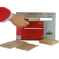 MINI Large Letter Postal Boxes - Royal Mail PiP Boxes (101mm x 101mm x 19mm)
