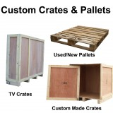 Custom Wooden Pallets & Crates