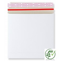 "7"" White All Board Record Mailers / Envelopes  - 195mm x 195mm"