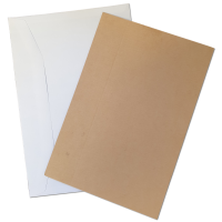 "C5 / A5 PiP Gummed Paper Envelopes With Stiffeners - 162mm x 238mm  (6.3"" x 9.3"")"
