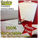 Eco Friendly Fluted Padded Envelopes