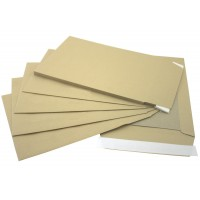 """C4 / A4 LIGHTWEIGHT Board Backed Envelopes (324mm x 229mm 12.75"""" x 9"""" appx)"""