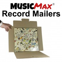 MusicMax Vinyl Record Mailers & Boxes