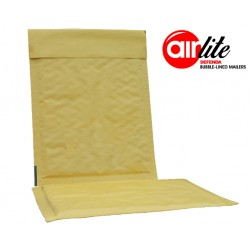 50 x ALG10 (470mm x 350mm) - AirLite Gold Padded Envelopes (Bubble Lined Padded Mailers)