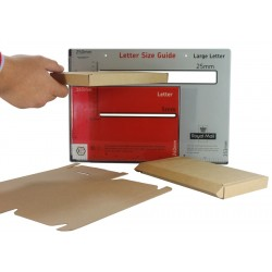 DIE-CUT DL Large Letter Postal Boxes - Royal Mail PiP Boxes (217mm x 108mm x 20mm)