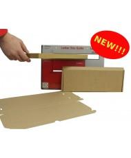 MAXIMUM SLIM Large Letter Postal Boxes - Royal Mail PiP Boxes (333mm x 123mm x 20mm)