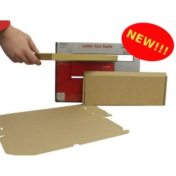 MAXIMUM SLIM Large Letter Postal Boxes - Royal Mail PiP Boxes (333mm x 123mm x 20mm)