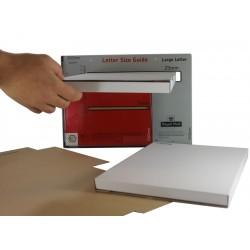 MAXIMUM SIZE Large Letter Postal Boxes - Royal Mail PiP Boxes (345mm x 242mm x 21mm)