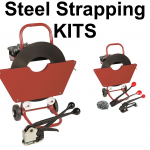 Metal (Steel) Hand Pallet Strapping Banding Kits