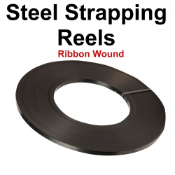 13mm Steel Pallet Banding Reels - Ribbon Wound