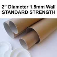 "2"" (50mm) Diameter Postal Tubes"
