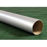 "Silver Postal Tubes  - 3"" (76mm) Diameter"