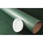 "Forest Green Postal Tubes  - 3"" (76mm) Diameter"