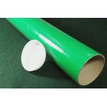 "Green Postal Tubes  - 3"" (76mm) Diameter"