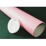 """Pink Postal Tubes  - 3"""" (76mm) Diameter"""
