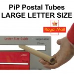 21mm Diameter Pricing In Proportion (PiP) Postal Tubes