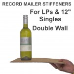 """12"""" Record Mailer Stiffeners / Layer Pads"""