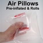 Air Pillows / Air Cushions - Void Fill Packaging
