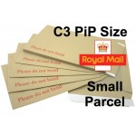 "Small Parcel Qualifying Hard / Board Backed Envelopes 449mm x 349mm (17.6"" x 13.7)"
