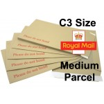 "C3 / A3 Board Backed Envelopes (457mm x 324mm 18"" x 12.75"" appx)"