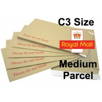 """C3 / A3 Board Backed Envelopes (457mm x 324mm 18"""" x 12.75"""" appx)"""