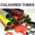 """3"""" (76mm) Diameter Coloured Postal Tubes"""