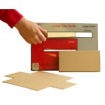 QUICKPACK DL Large Letter Postal Boxes - Royal Mail PiP Boxes (217mm x 108mm x 20mm)