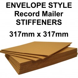 "12"" Record Mailer Stiffeners - 317mm x 317mm (For Envelope Style & MusicMax QP2 Record Mailers) MM317"
