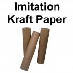88gsm Brown Imitation Kraft Wrapping Paper