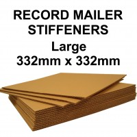 """12"""" Inch Corrugated Record Mailer STIFFENERS / LAYER PADS"""