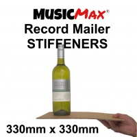 "Buy 5,400 x 12"" MusicMax Record Mailer Stiffeners - 330mm x 330mm (pallet - bulk quantities) - MM330"